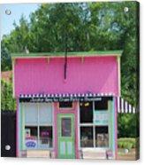 Ice Cream Parlor Acrylic Print