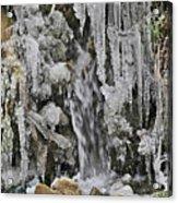 Ice Droplets  Acrylic Print