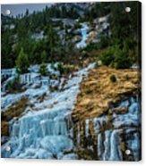 Ice Fall Acrylic Print