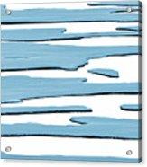 Ice Flow Acrylic Print