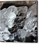Ice Formations Acrylic Print