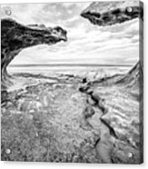 Ice Forms Acrylic Print