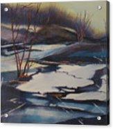 Ice Fragments Acrylic Print