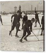 Ice Hockey 1912 Acrylic Print