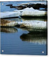 Ice In The Arctic Acrylic Print