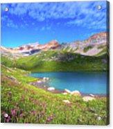 Ice Lakes Basin  Acrylic Print