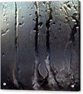 Ice On Window 3 Acrylic Print