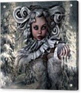 Ice Princess 004 Acrylic Print