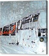 Ice Queen Express Acrylic Print