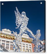 The Annual Ice Sculpting Festival In The Colorado Rockies, The Allure Of A Siren Acrylic Print