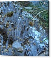 Ice Shards Acrylic Print