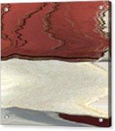 Ice To Earth Abstract Acrylic Print