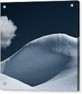 Iceberg And Cloud Acrylic Print