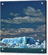 Iceberg In Viedma Lake - Patagonia Acrylic Print