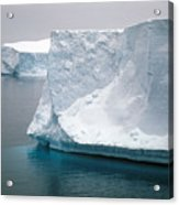 Icebergs In The Weddell Sea Antarctica Acrylic Print
