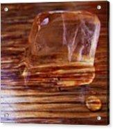 Icecube Trail Acrylic Print