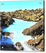 Iceland Blue Lagoon Healing Waters Acrylic Print