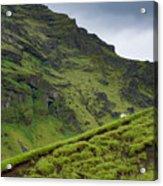 Iceland Hill Acrylic Print