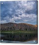 Iceland Mountain Reflections  Acrylic Print