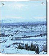 Iceland Mountains Lakes Roads Bridges Iceland 2 2112018 0945 Acrylic Print