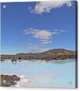 Iceland Popular Blue Lagoon  Acrylic Print