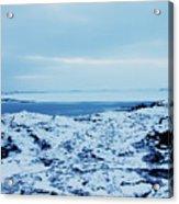 Iceland Rocks Lake Clouds Iceland 2 2112018 0935 Acrylic Print