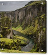 Iceland Valley Acrylic Print