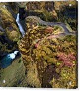 Icelandic Autumn Acrylic Print