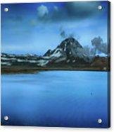 Icelandic Blue Acrylic Print