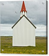 Icelandic Church Acrylic Print