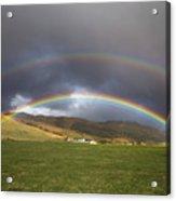 Icelandic Rainbows Acrylic Print