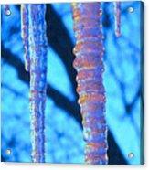 Icicles Four Acrylic Print