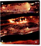 Icicles II Acrylic Print