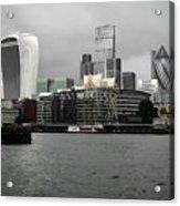 Iconic London Skyline Acrylic Print