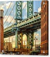 Iconic Manhattan Acrylic Print