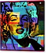 Iconic Marilyn Acrylic Print