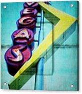 Iconic Vegas Squares Acrylic Print