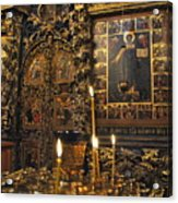Iconostasis - Church Of Elijah The Prophet Acrylic Print