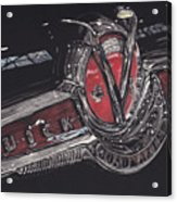 Icons Buick V8 Acrylic Print