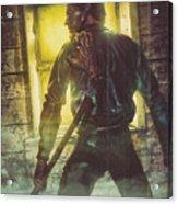 Icons Of Horror Evil Dead Acrylic Print