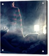 Icons Of Horror Nightmare On Elm Street Acrylic Print