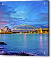 Icons Of Sydney Harbour Acrylic Print