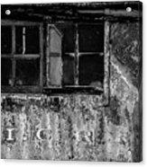 I.c.r.r. Steam Engine Cab Acrylic Print
