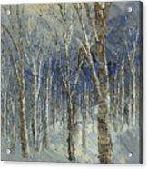 Icy Bells Acrylic Print