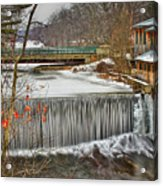 Icy Conditions Acrylic Print