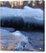 Icy Creek Acrylic Print