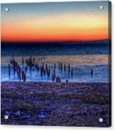 Icy Dawn Acrylic Print
