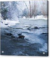 Icy Flow Acrylic Print