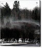 Icy Fog Acrylic Print