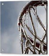 Icy Hoops Acrylic Print